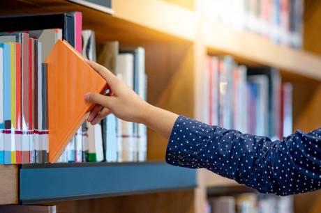 En kvinde har anmeldt en grov blufærdighedskrænkelse på Risskov Bibliotek.