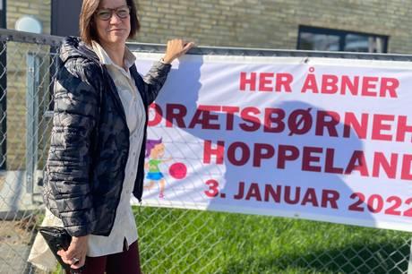 Den 3. januar slås dørene for første gang op i det helt nybyggede Idrætsbørnehus Hoppeland.  Her er der ekstra fokus på bevægelse.