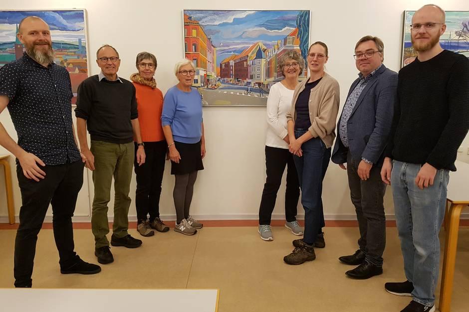 Trøjborg Fællesråd har arrangeret sit første vælgermøde, hvor debatlysten var stor.