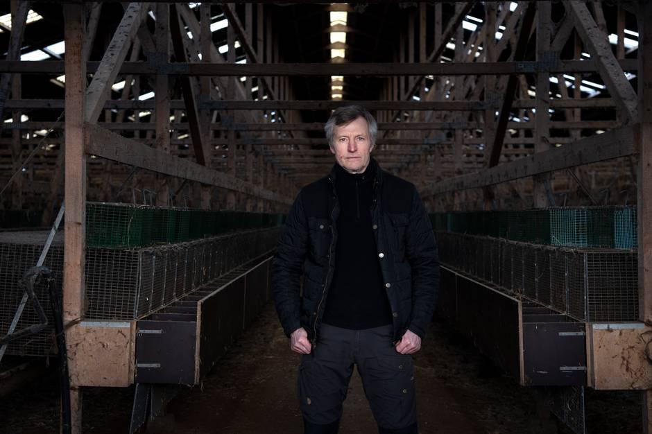 Et år efter Lars Eilertsen nedlagde sin minkbestand, er han ikke kommet meget videre. Han må nemlig ikke rive sine ni haller ned endnu. Ikke hvis han vil have sin erstatning.