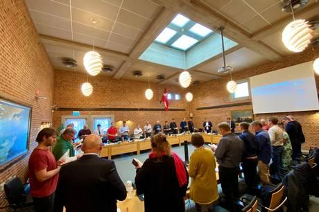Der var ikke tvivl om beslutningen, men alligevel tog det knap to timer at nå hen til den endelige vedtagelse af kommunens budget.