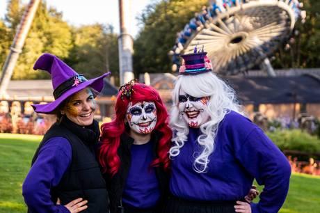Halloween i efterårsferien var med til at hive besøgstallet et godt stykke over 800.000.
