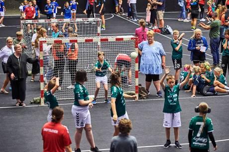 Fuld aktivitet på håndboldbanerne efter corona-tiden.