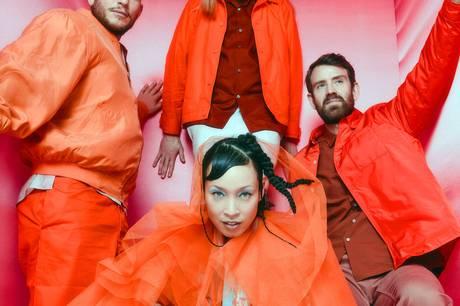 Svenske Little Dragon med frontkvinde Yukimi Naganos kreerer catchy elektronisk pop. Pressefoto