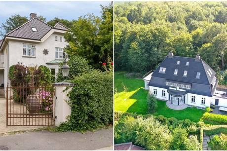 To villaer i den høje millionklasse er lige nu til salg i Aarhus.
