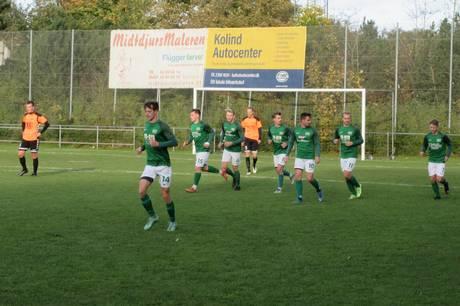 Kolind-Perstrup IF fik ikke snøret sækken i 2-2 opgør mod Vivild IF, som var ved at løbe med sejren til sidst.