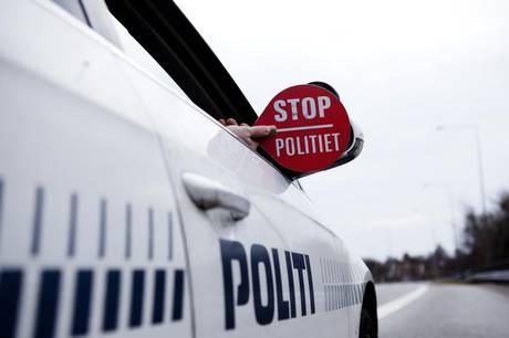 Politiet standsede tirsdag eftermiddag en bil i Anbæk, og det viste sig at være en god idé.