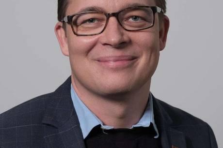 Christoffer Pedersen (V). Arkivfoto