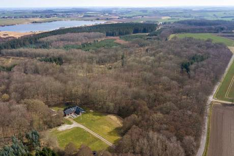 Regeringen foreslår at føre Viborgvej syd om Lading Sø.