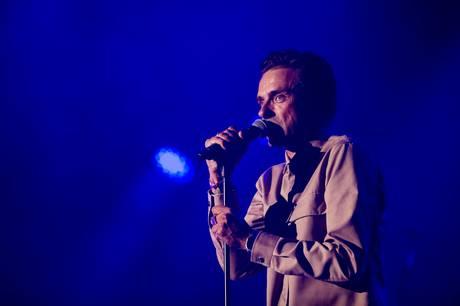 Simon Kvamm er en af syv musikere, der skal deltage i 'Toppen af poppen'. Foto: Thomas Borberg/Ritzau Scanpix